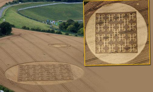 Pořádně složité kruhy v obilí: Dokáže tohle ještě člověk?