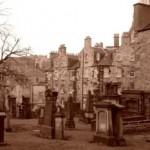 Skotský hřbitov Greyfriar's v Edinburghu