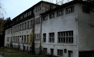 Opuštěné plicní sanatorium