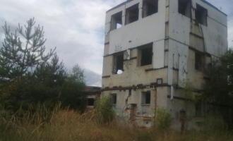 Opuštěný vojenský areál, Holýšov