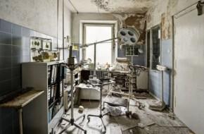 Opuštěné panské sídlo v Německu