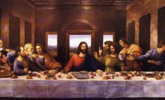 Co ukrývá freska Poslední večeře?
