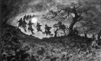 Na Čaroděni měly sabaty temné síly