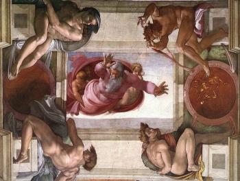 Lidské orgány v Sixtinské kapli