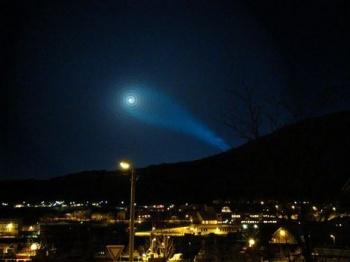 Tajemné rakety nad Skandinávií