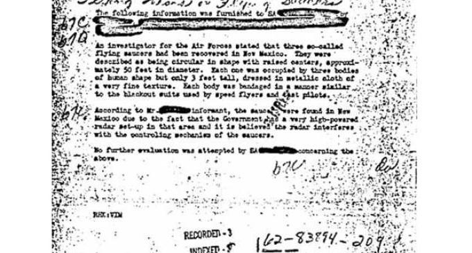 Mýtus o roswellském UFO odhalen