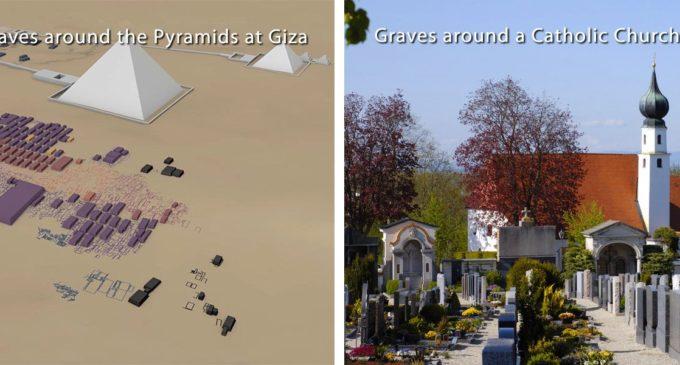 Pyramidy jako hrobky? Kostely jako hrobky!