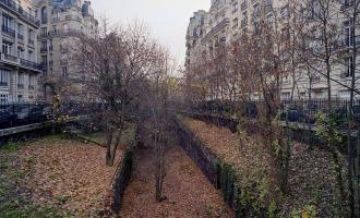 Pařížskou železnici která už je 80 let nefunkční, si vzala do parády příroda