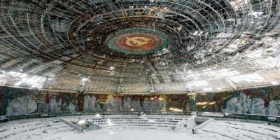 Sovětský svaz a jeho zašlá sláva zachycena na mrazivých fotografiích