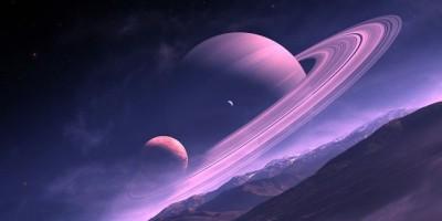 Tajemný obrazec na Saturnu