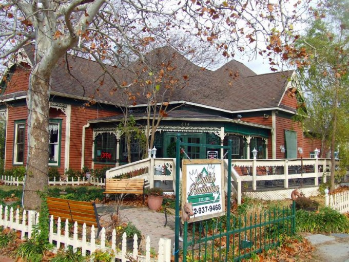 Texaská restaurace – jídlo podávané s duchy