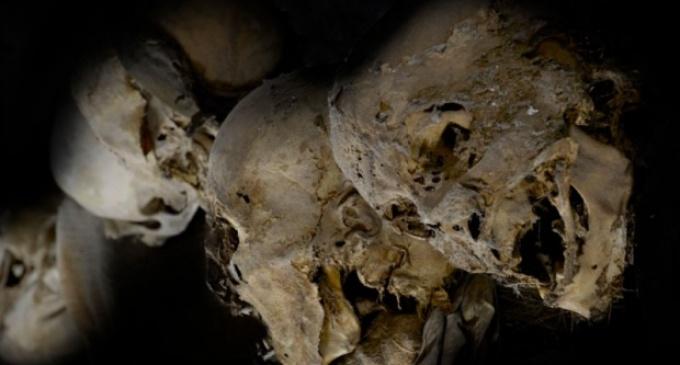 Děsivé tajemství pod zemí. Takto vypadají katakomby smrti