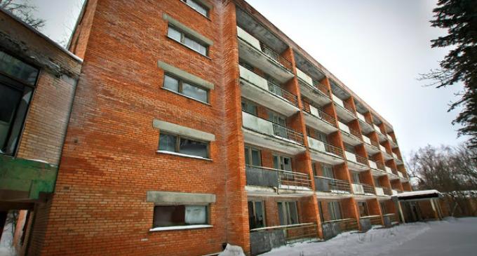 Opuštěné sanatorium poblíž Moskvy