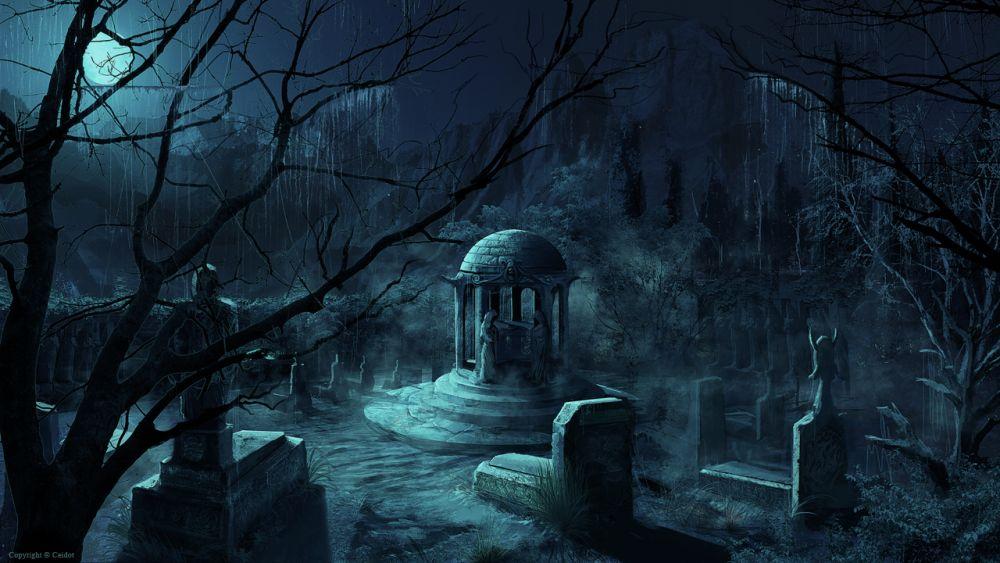 Ztracené duše mrtvých na nejstrašidelnějších hřbitovech světa