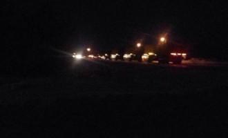 Nehoda UFO v Kanadě. Armáda na místě a zakázala vstup do oblasti