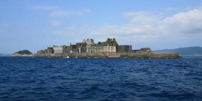 Ostrov duchů Hašima: Na sídlišti z betonu už přes 40 let nikdo nežije