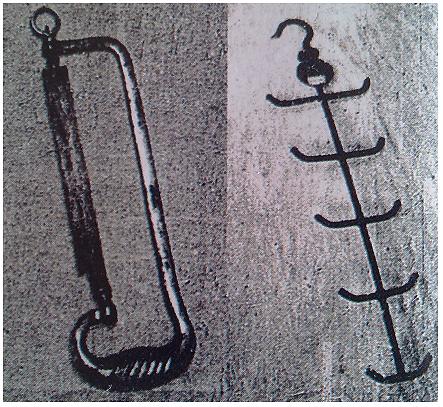 """Nástroje používané lékaři z Jednotky 731 zahrnovaly pily pro vykonávání amputací a háky pro zavěšování orgánů odstraněných během pitvy. Žádný """"špalek"""" neunikl smrti - ti, kteří přežili biologické pokusy, byli buďto rozpitváni nebo zastřeleni. Počet zabitých při práci Jednotky 731 dodnes nelze vyčíslit, ale odhaduje se na desetitisíce."""
