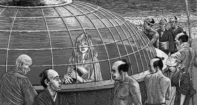 Mimozemšťanka z Ďáblova moře