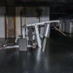 Zatopená rehabilitační místnost