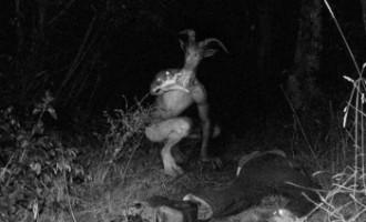 Existuje záhadné monstrum – texaský kozí muž?