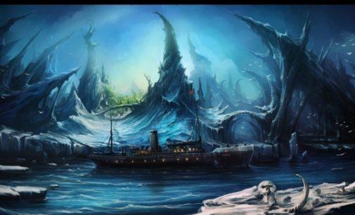 Tajemný ostrov v Severním ledovém oceánu