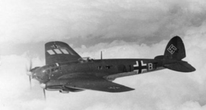 Dostal se nacistický bombardér do časové smyčky?