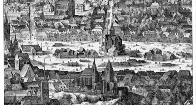 Tajemné vojsko duchů na Karlově náměstí v Praze