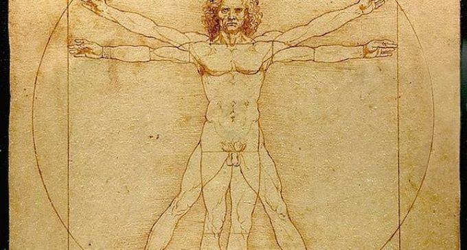 Vitruviánský muž – jakou šifru do kresby Leonardo da Vinci vložil?