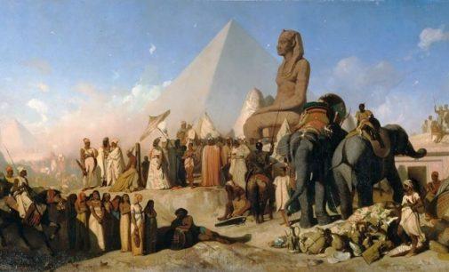 Ztracené vojsko perského císaře: pohřbeny 50 tisíc mužů poušť?