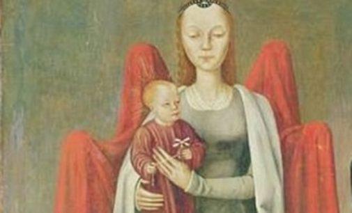 Malý Ježíš s vrtulníkem na středověkém obraze?