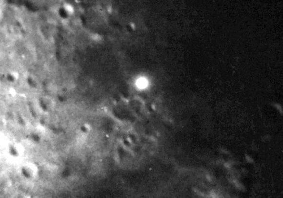 Záhadná světla na Měsíci