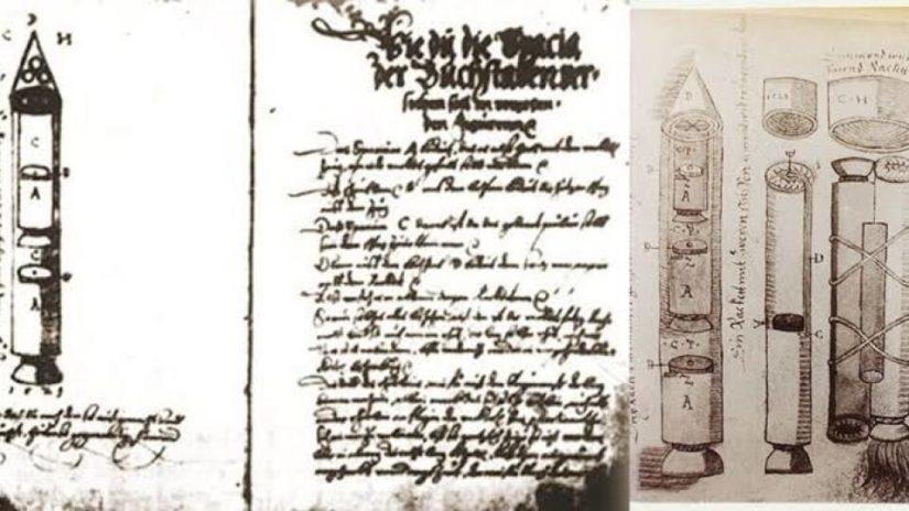 Vícestupňové rakety v 16. století? Vznikly v Rumunsku