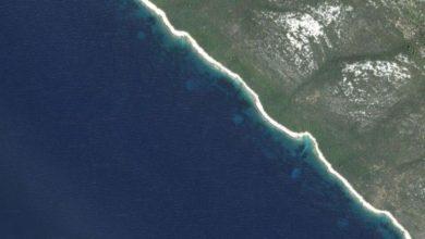 Záhadné kruhy u chorvatského ostrova: Kde se tam vzaly?