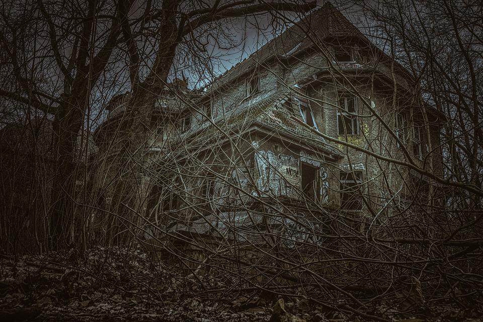 Přítomnost duchů dětí ve starém domě